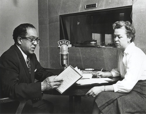 Langston-Hughes-interviewed-on-KPFA, Pacifica Radio: Let's talk about the debt, Local News & Views