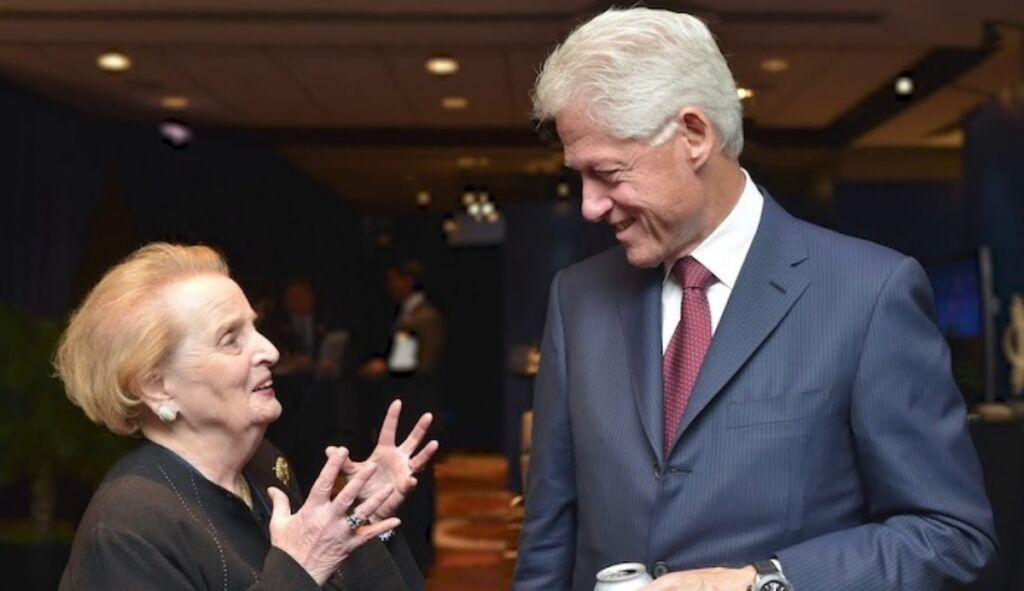 Madeline-Albright-and-President-Bill-Clinton, Rwanda and Zaire (DRC) 1990 to 1997, where the US blocked real humanitarian intervention, World News & Views