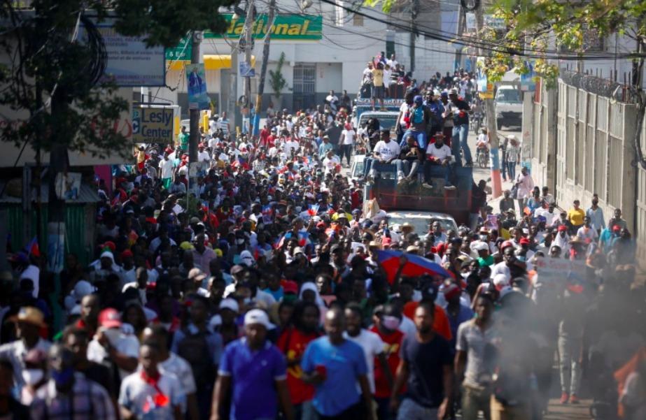 Massive-protest-100000-Haitiams-denounce-Jovenel-Moise-dictatorship-Port-au-Prince-021421, A call for solidarity with Haiti, World News & Views