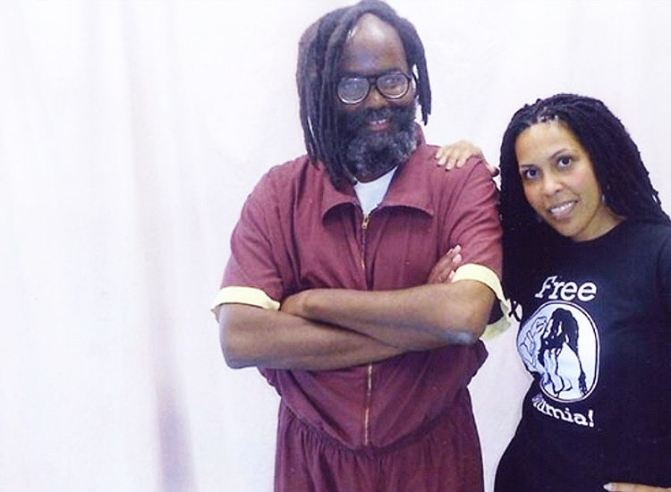 Mumia-Abu-Jamal-and-Dr.-Johanna-Fernandez-cy-Dr.-Fernandez, Mumia Abu-Jamal tests the limits of what the state can do to any of us, an interview with Johanna Fernandez, Behind Enemy Lines