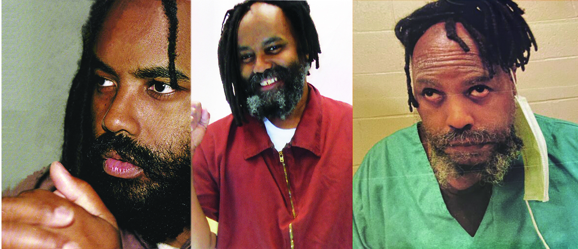 Mumia-then-and-now-1, Mumia Abu-Jamal is scheduled for open-heart surgery, Behind Enemy Lines