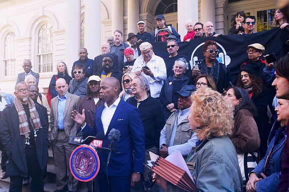 WBAI-staff-producers-listeners-rally-101719-to-reverse-firings-return-to-air-w-local-control-by-Bill-Moore-Amsterdam-News, Pacifica Radio: Let's talk about the debt, Local News & Views