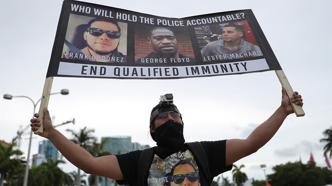 End-qualified-immunity-protest-against-police-brutality-062014-in-Miami, Accountability and the immorality of qualified immunity, Behind Enemy Lines