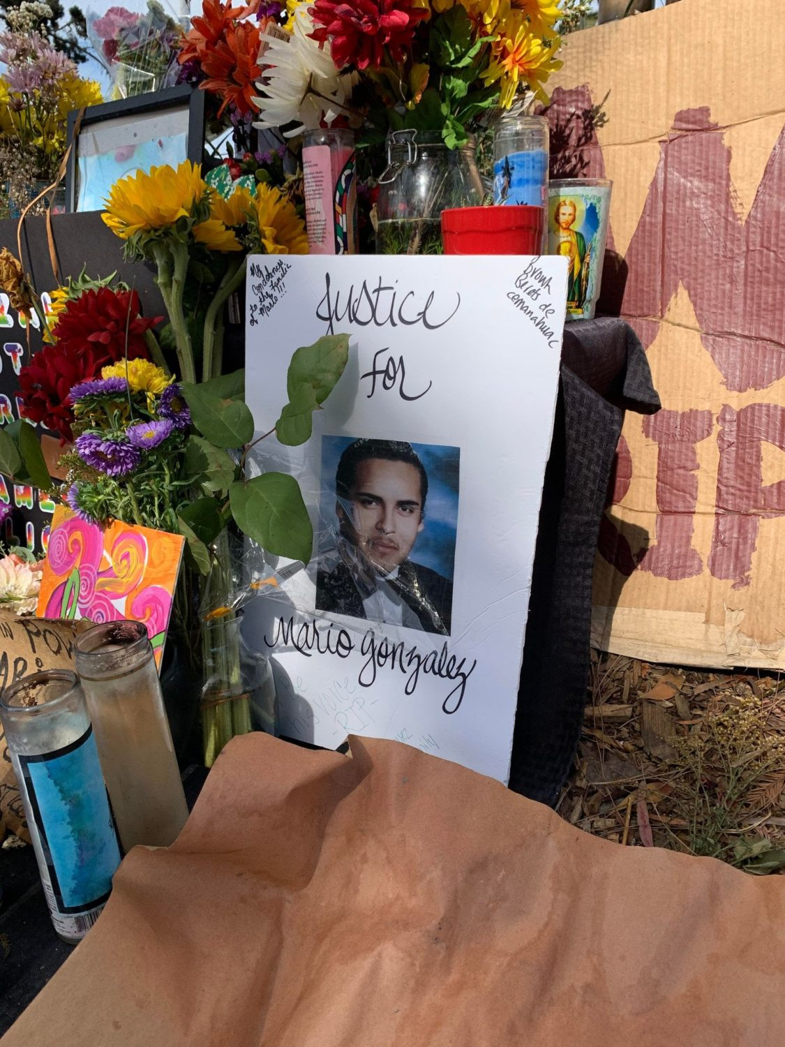 Altar-created-by-Oakland-Brown-Berets-Tele-Jaguar-for-Mario-Gonzales-murdered-by-Alameda-PD-041921-by-Poor, From poverty tows to Palestine: The violence of settler colonial evictions across Mama Earth, World News & Views