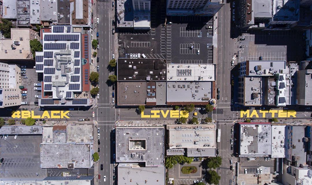 BLM-mural-15th-Street-Oakland-2020-1, Black contractors getting few if any more city contracts since new law, Local News & Views