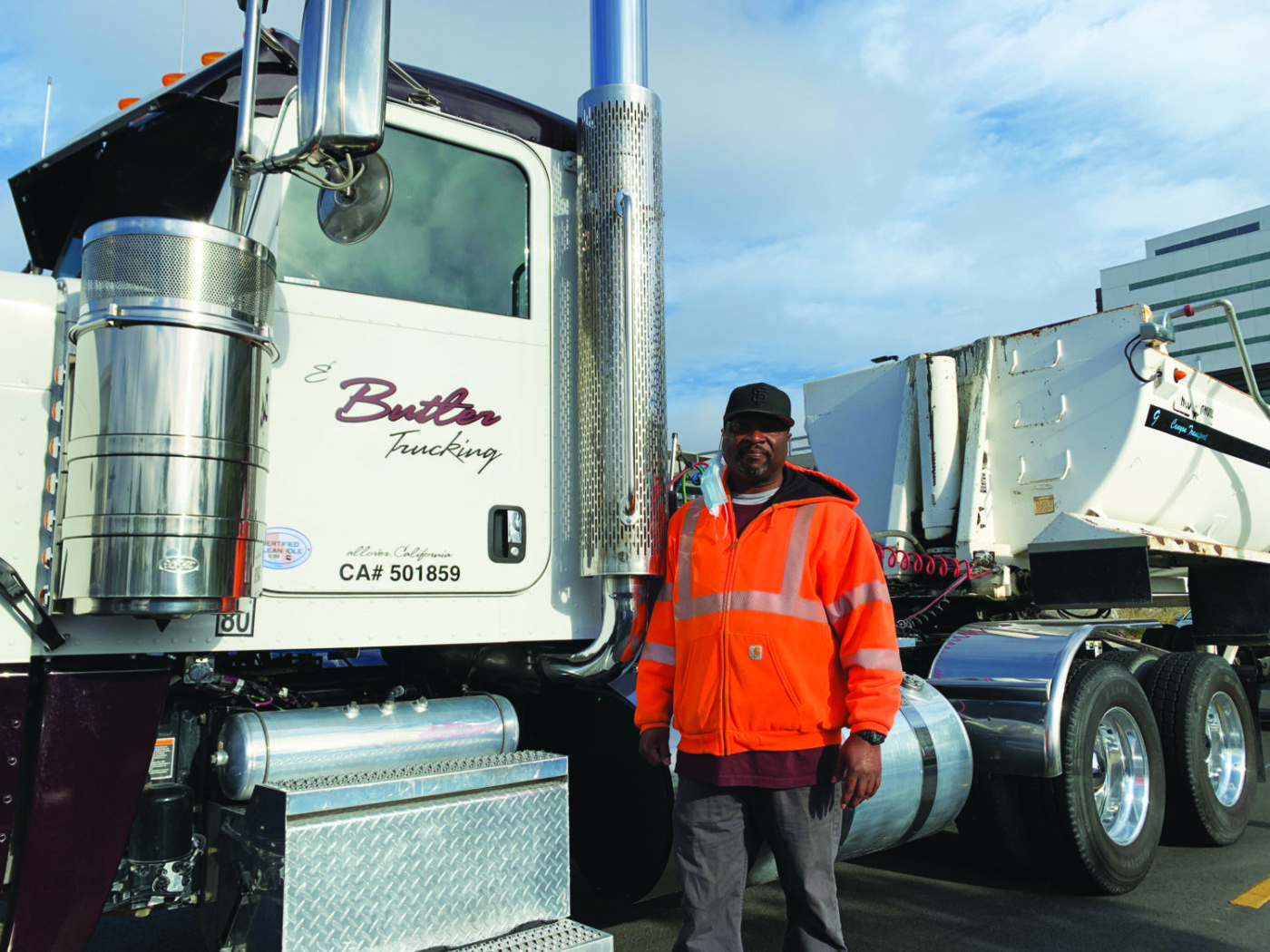 E-Butler-Trucking-UCSF-job-site-shutdown-043021-by-Griffin-1400x1050, Black truckers shut down multi-million-dollar UCSF job site for 4.5 hours, Local News & Views