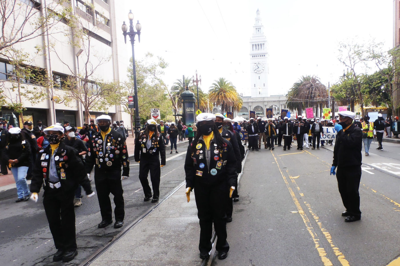 May-First-International-Workers-Day-San-Francisco-ILWU-Drill-Team-050121-by-Jahahara-1400x932, Reparations are here!, Culture Currents