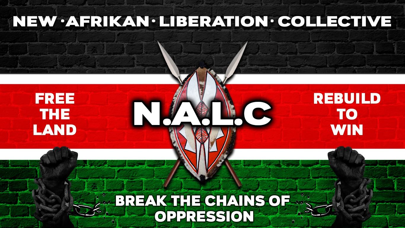 NALC-banner-0421, Kwame Shakur: Letter to the People, Behind Enemy Lines