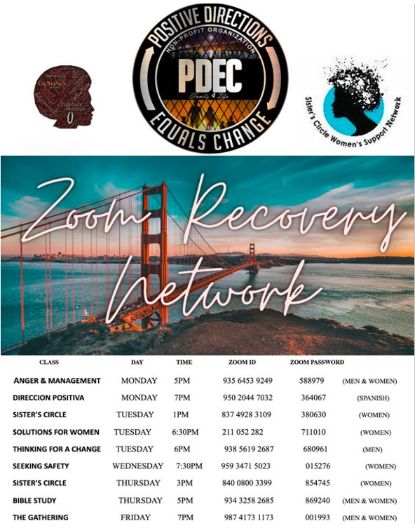 PDEC-Zoom-Recovery-Network-schedule-for-0621, Is the glass half full or half empty?, Local News & Views