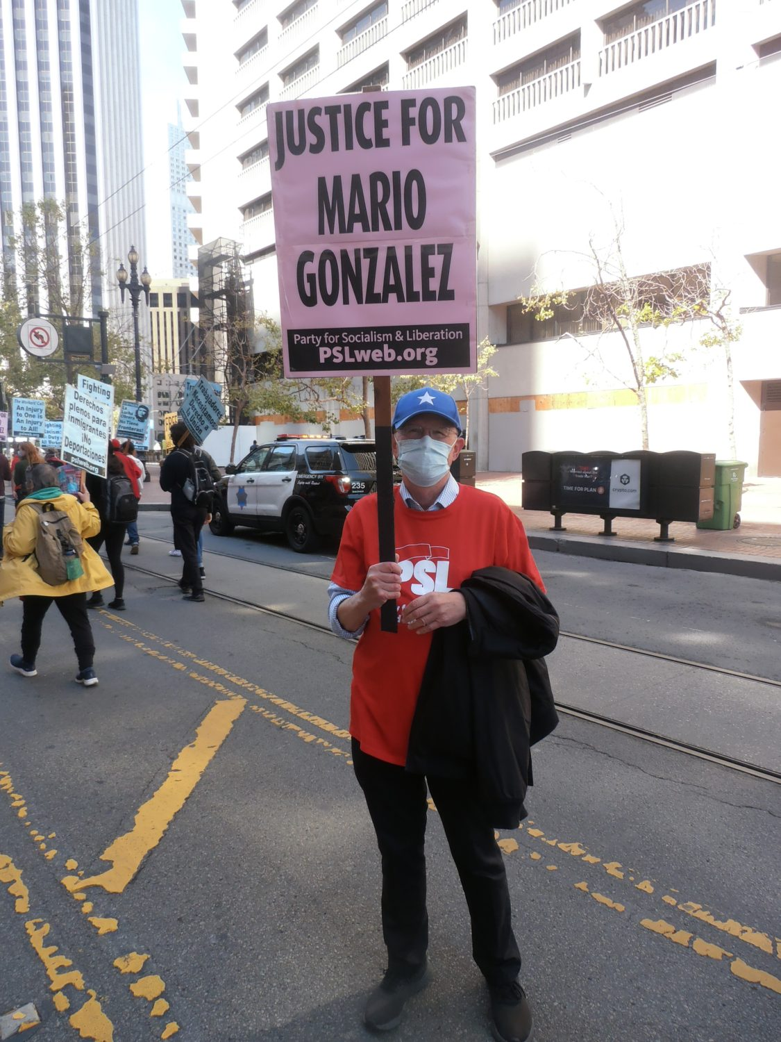 Richard-Becker-of-International-ANSWER-and-Party-for-Socialism-and-Liberation-May-Day-Mario-Gonzalez-protest-in-Oakland-050121-by-Jahahara, Reparations are here!, Culture Currents