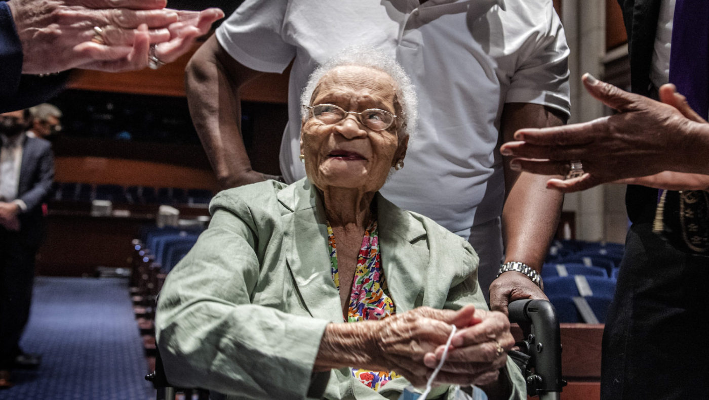 Tulsa-Massacre-survivor-Viola-Fletcher-107-testifies-House-Judiciary-subcmte-on-reparations-051921by-Washington-Post-1400x791, Rep. Barbara Lee marks 100th anniversary of Tulsa Greenwood Massacre, calling for reparations and a truth, racial healing and transformation commission, National News & Views