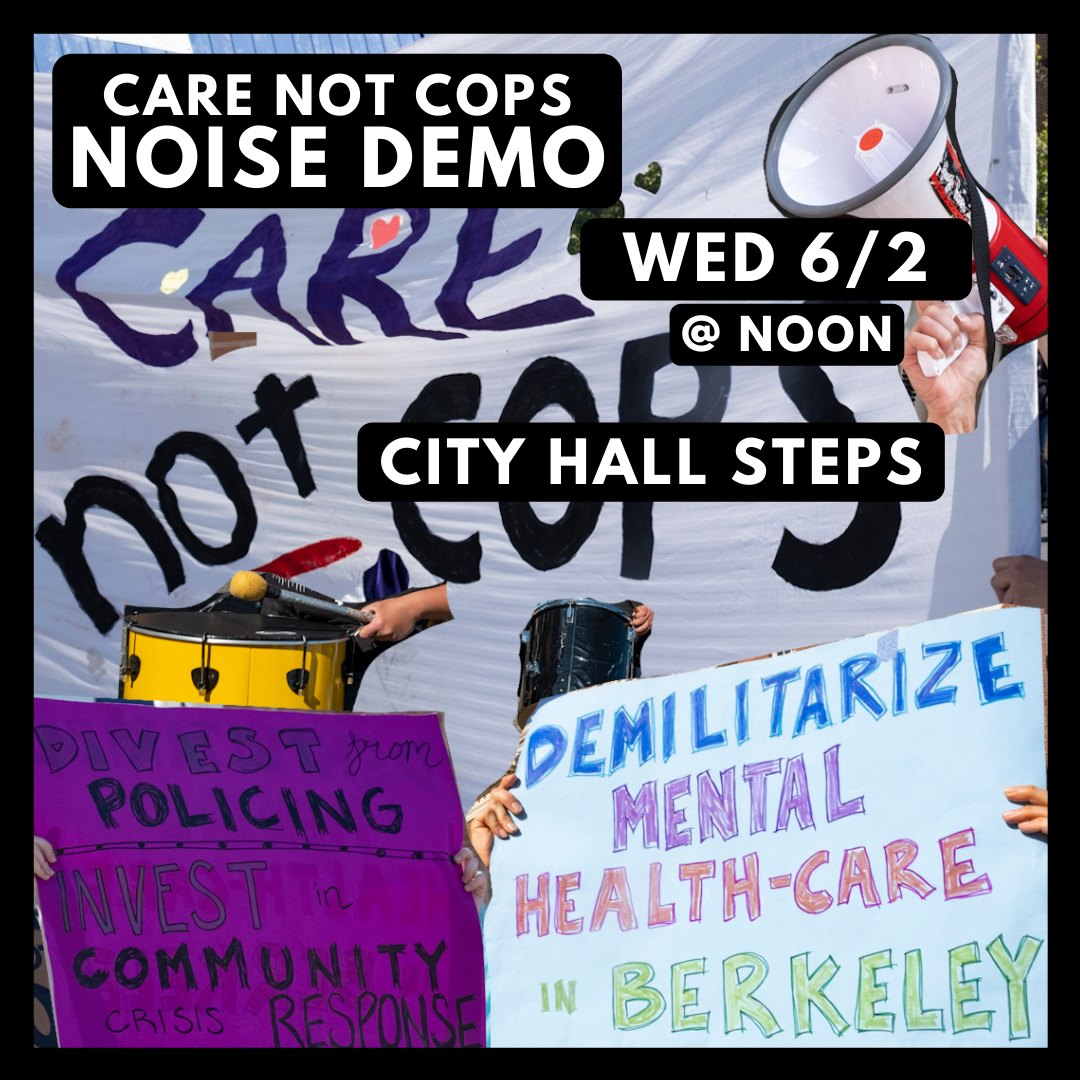 Berkeley-Copwatch-Care-not-Cops-poster-060221, Berkeley slashes social services while police budget continues to grow, Local News & Views