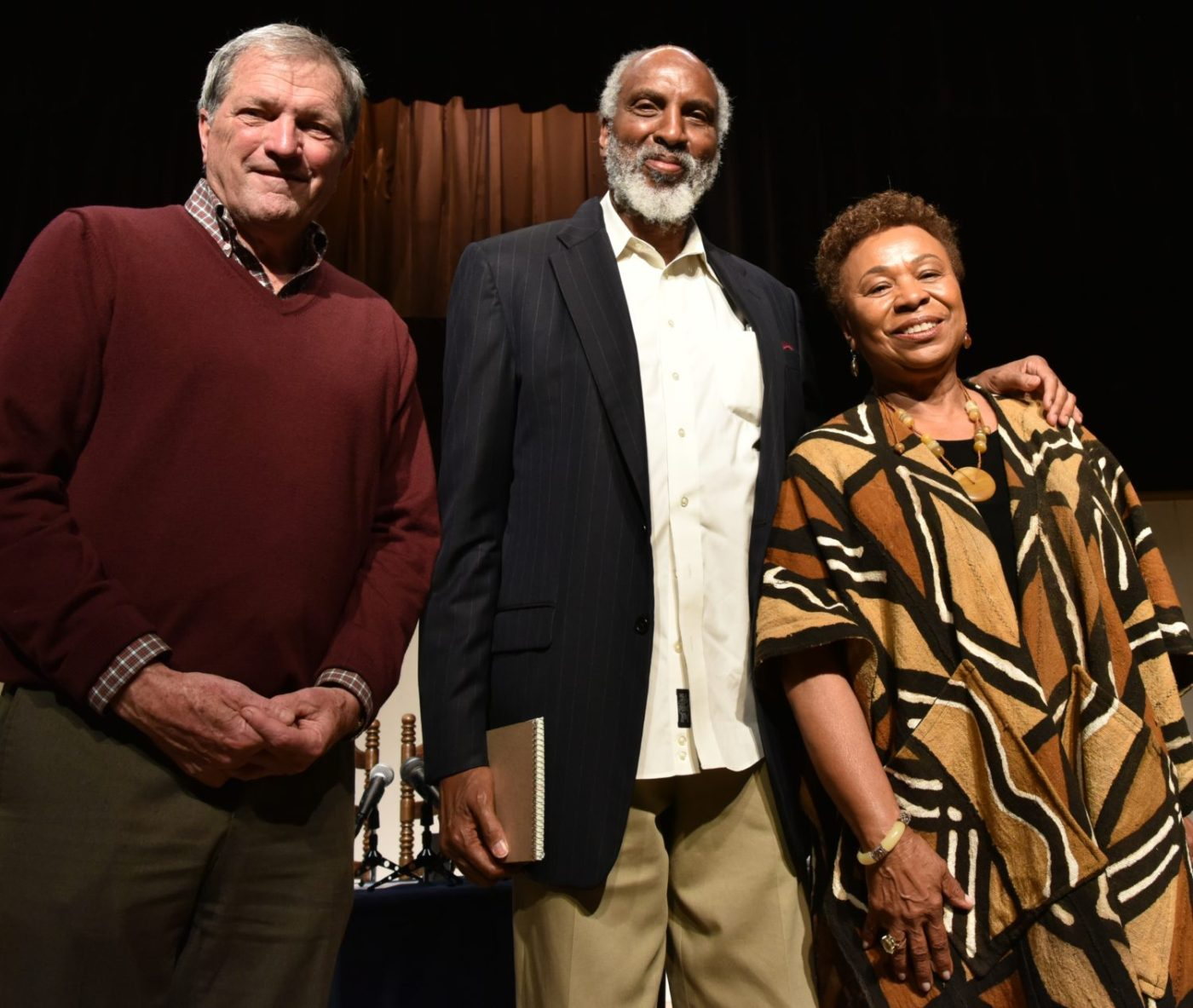 Congresswoman-Barbara-Lee-john-a.-powell-and-Congressman-Mark-DeSaulnier-at-a-town-hall-on-Port-Chicago-by-Johnnie-Burrell-1400x1183, 77th anniversary commemoration of the Port Chicago Explosion, Local News & Views