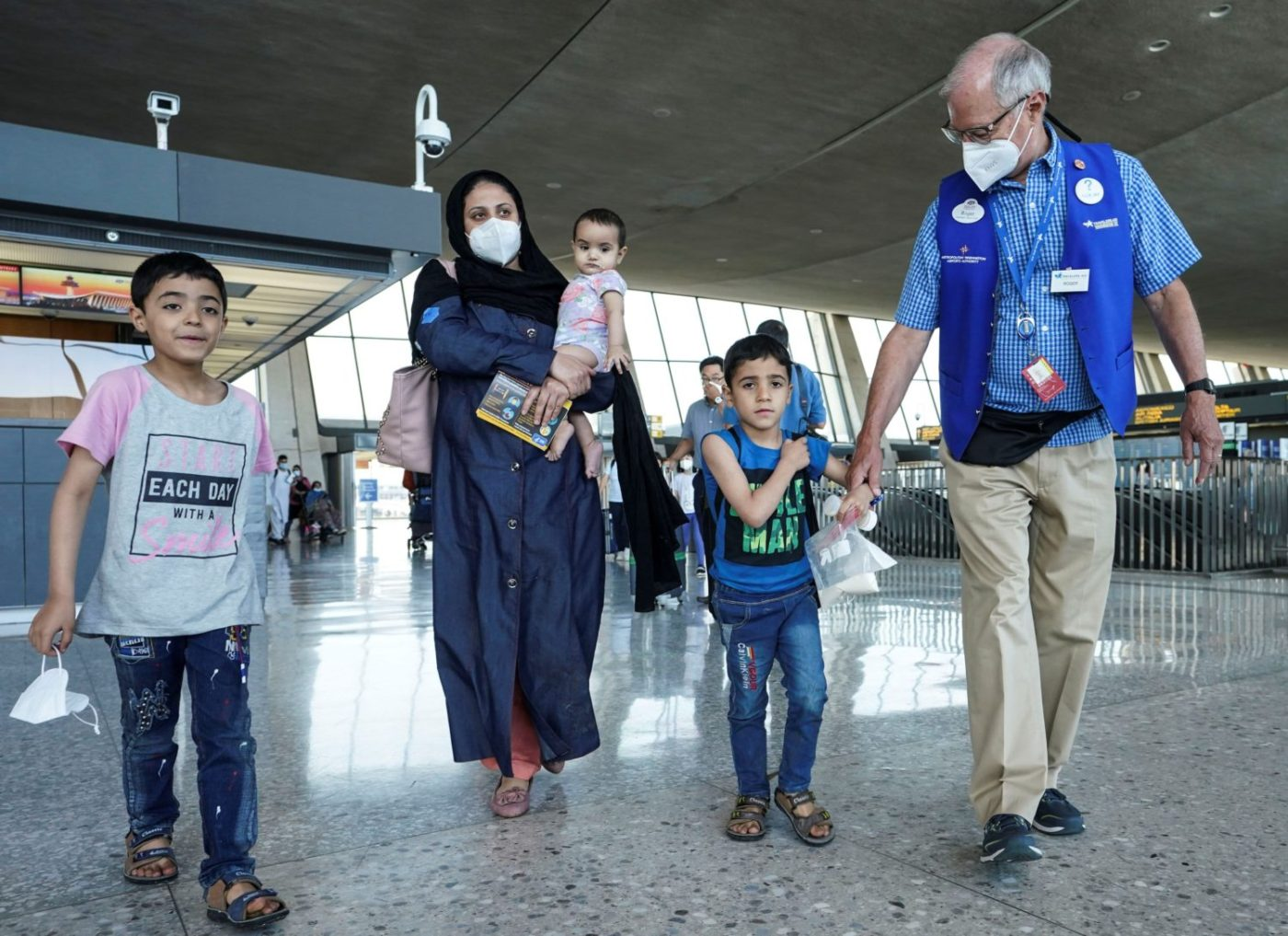 Afghan-refugees-arrive-at-Dulles-International-Airport-082521-by-Kevin-Lamarque-Reuters-1400x1017, Abuse of refugees exposes the White House's long-standing policy towards Haiti, World News & Views