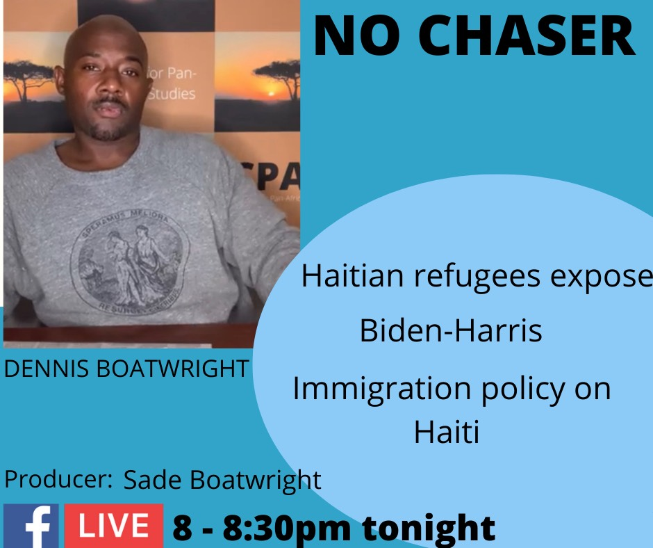 Dennis-Boatwright-podcast-graphic, Abuse of refugees exposes the White House's long-standing policy towards Haiti, World News & Views