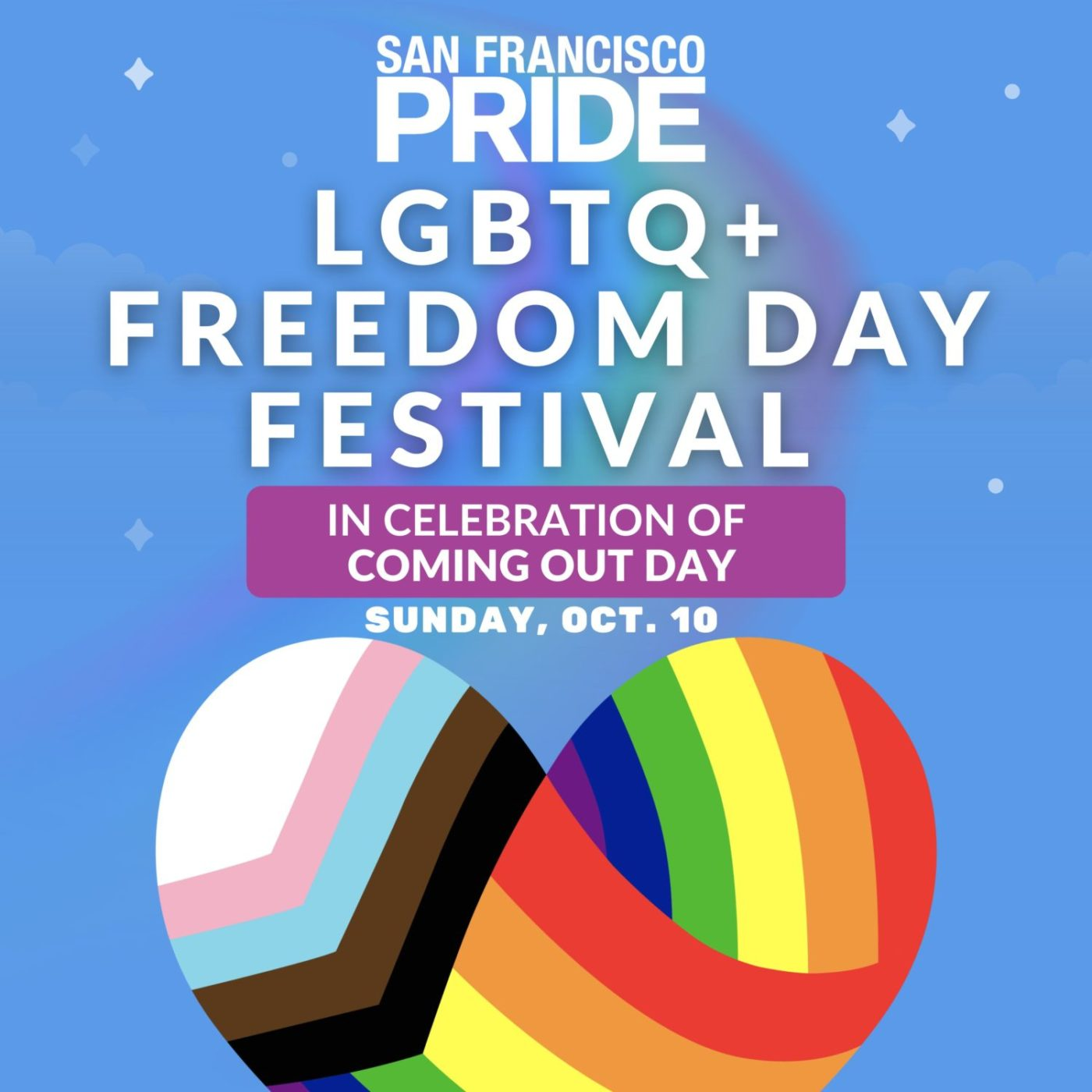 LGBTQ-Freedom-Day-Festival-1400x1400, Oakland Pride is back in person, Folsom Street Fair presents Megahood and more, Culture Currents