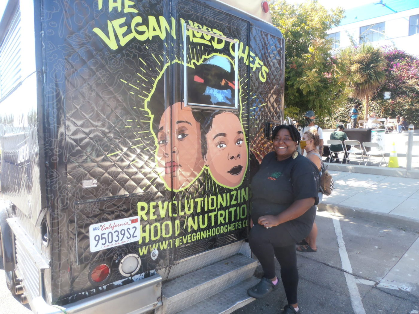 Queen-Raheema-Calloway-of-Vegan-Hood-Chefs-by-Jahahara-1400x1050, Much respect and love to the Black Panther Party, Culture Currents