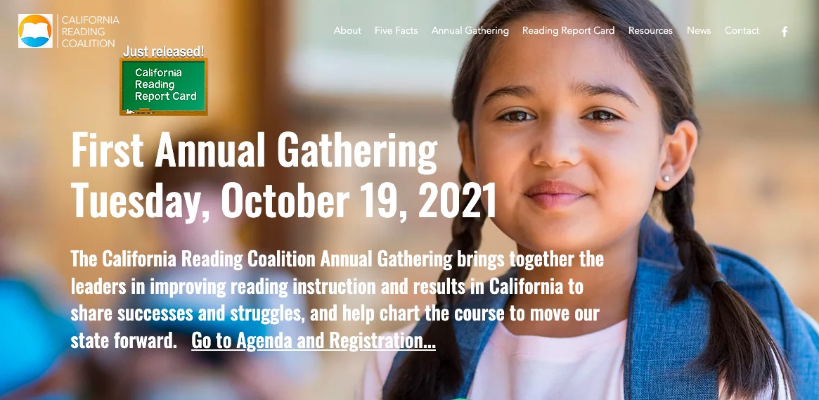 California-Reading-Coalition-Annual-Gathering-101921-poster, Daphne Young's eye on education: 'What's going on?', Local News & Views