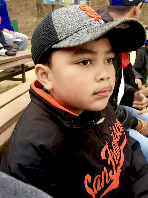 Sam-Johnson-at-Giants-game, Sam: Samuel-Ace Ieremia Johnson – Forever in our hearts, Culture Currents