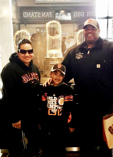 Sam-Johnson-parents-Nia-Eric-Johnson-Giants-fans, Sam: Samuel-Ace Ieremia Johnson – Forever in our hearts, Culture Currents