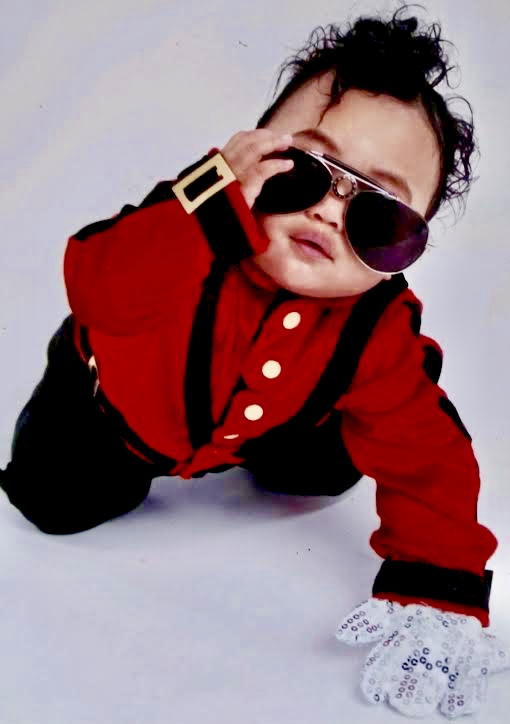 Sam-Johnsons-first-Halloween-dressed-as-Michael-Jackson, Sam: Samuel-Ace Ieremia Johnson – Forever in our hearts, Culture Currents